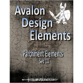 Avalon Design Elements, Parchement #10