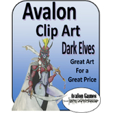 Avalon Clip Art, Dark Elves