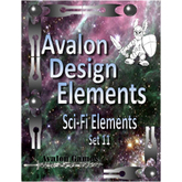 Avalon Design Elements, Sci-Fi Set #11