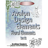 Avalon Design Elements, Floral Set #11