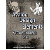 Avalon Design Elements, Parchment Set #11