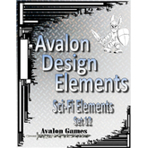 Avalon Design Elements, Sci-Fi Set #12