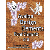 Avalon Design Elements, Floral Set #12