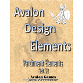 Avalon Design Elements, Parchment #12 Set #12