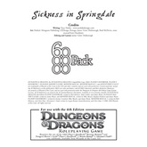 6-Pack Adventures: Sickness in Springdale [4e]