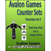 Avalon Counter Sets, Starships Set 9 AVG1800-20