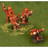 Ogre Miniatures: Paneuropean Heavy Infantry