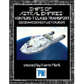 Ships of ASTRAL EMPIRES-Venture-T Class Transport