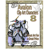 Avalon Clip Art Characters, Star Knight 3