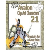 Avalon Clip Art Characters, Star Knight 6