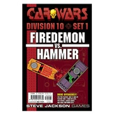 Car Wars Division 10 Set 1 - Firedemon vs. Hammer