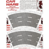 Car Wars Deluxe Road Sections Set 1: Starter Set