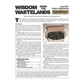 Wisdom from the Wastelands Issue #24: Weapon Modifications
