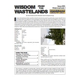 Wisdom from the Wastelands Issue #25: Metamorphosis I