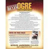 Ogre Designer's Edition Quick Start Rules