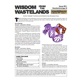 Wisdom from the Wastelands Issue #31: Nanotechnology III