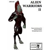 Paper Miniatures: Alien Warriors II Set