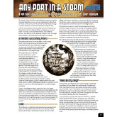 One Sheet - Any Port In A Storm (Fate Core)
