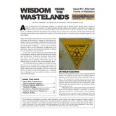 Wisdom from the Wastelands Issue #41: Alternate Forms of Radiation