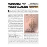 Wisdom from the Wastelands Issue #39: Unique Superscience Artifacts