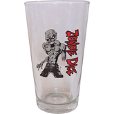 Zombie Dice Pint Glass