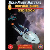Star Fleet Battles: Module R12 - Unusual Ships SSD Book (B&W)